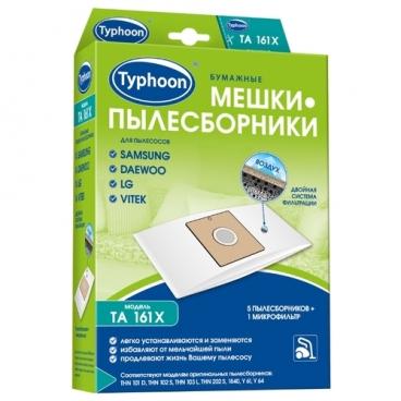 Тайфун Бумажные мешки-пылесборники TA 161X