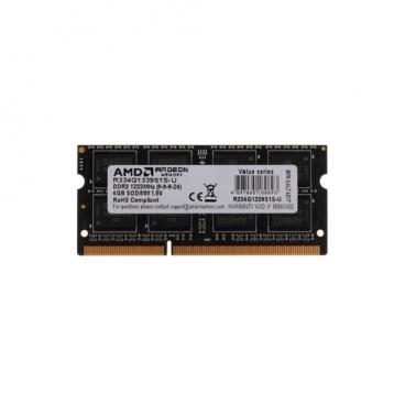Оперативная память 4 ГБ 1 шт. AMD R334G1339S1S-U