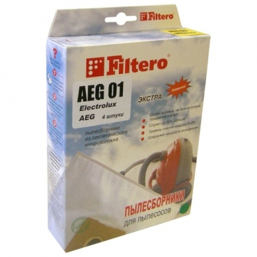 Filtero Мешки-пылесборники AEG 01 Экстра