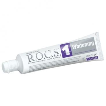 Зубная паста R.O.C.S. Uno Отбеливающая
