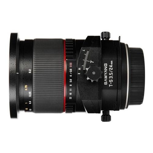 Объектив Samyang 24mm f/3.5 ED AS UMC T-S Nikon F