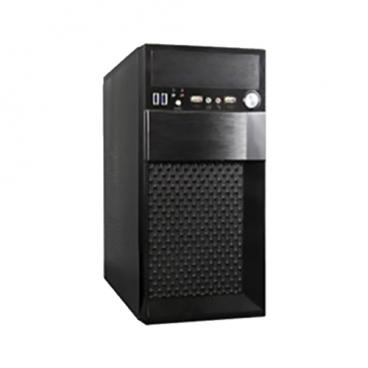 Компьютерный корпус ExeGate BAA-102U w/o PSU Black