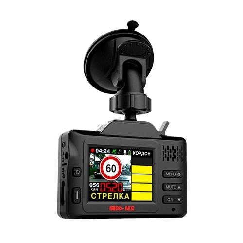 Видеорегистратор с радар-детектором SHO-ME Combo Drive Signature GPS/GLONASS