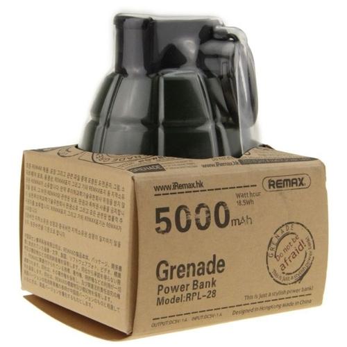 Аккумулятор Remax Grenade 5000 mAh RPL-28