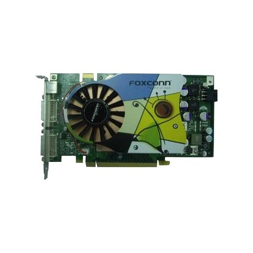 Видеокарта Foxconn GeForce 7900 GS 560Mhz PCI-E 256Mb 1400Mhz 256 bit 2xDVI TV YPrPb