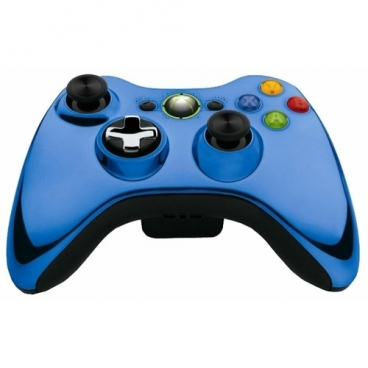 Геймпад Microsoft Xbox 360 Wireless Controller Chrome Series