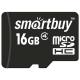 Карта памяти SmartBuy microSDHC Class 4 16GB