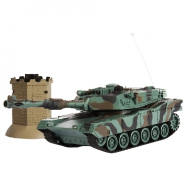 Танк Mioshi Tech Осада Башни M1A2 (MAR1207-030) 1:24 36 см