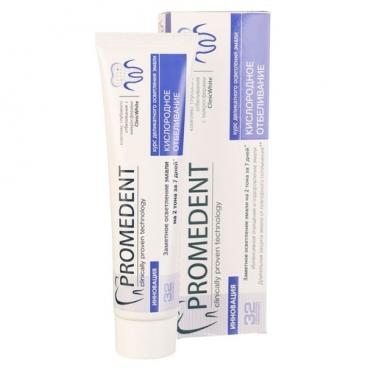 Зубная паста 32 Бионорма Promedent Кислородное отбеливание
