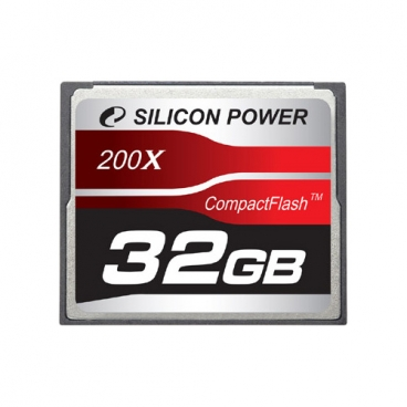 Карта памяти Silicon Power 200X Professional Compact Flash Card
