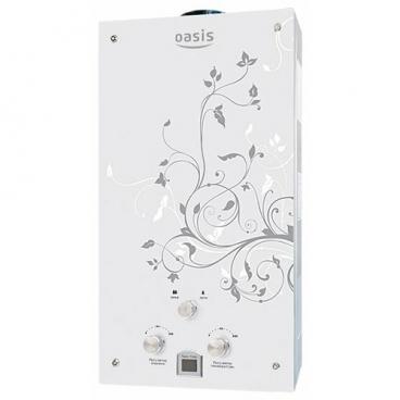 Проточный газовый водонагреватель Oasis Glass 24ZG