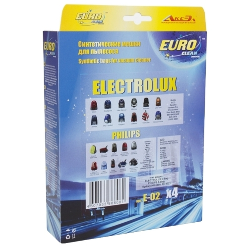 EURO Clean Синтетические пылесборники E-02