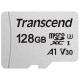 Карта памяти Transcend microSDXC 300S Class 10 UHS-I U3 A1 V30 128GB + SD adapter (TS128GUSD300S-A)