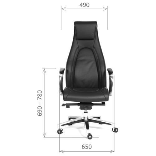 Компьютерное кресло Chairman Fuga для руководителя