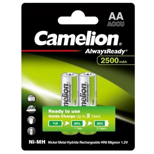 Аккумулятор Ni-Mh 2500 мА·ч Camelion Always Ready AA