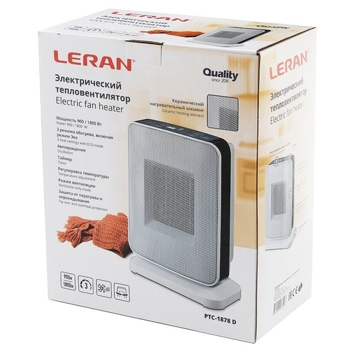 Тепловентилятор Leran PTC-1878 D