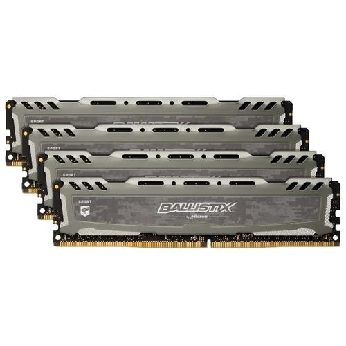 Оперативная память 16 ГБ 4 шт. Ballistix BLS4K16G4D30AESB