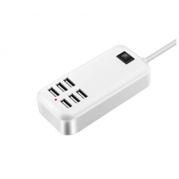 Сетевая зарядка Home Helper 6 USB ports (500.003.10)