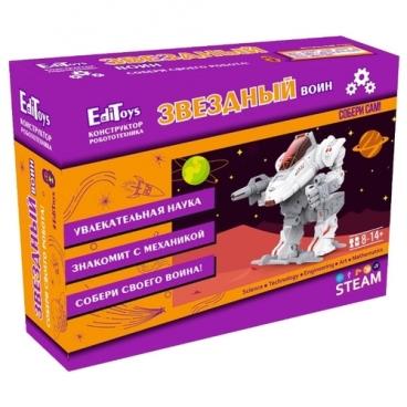 Электронный конструктор EdiToys Робототехника ET06 Звездный воин