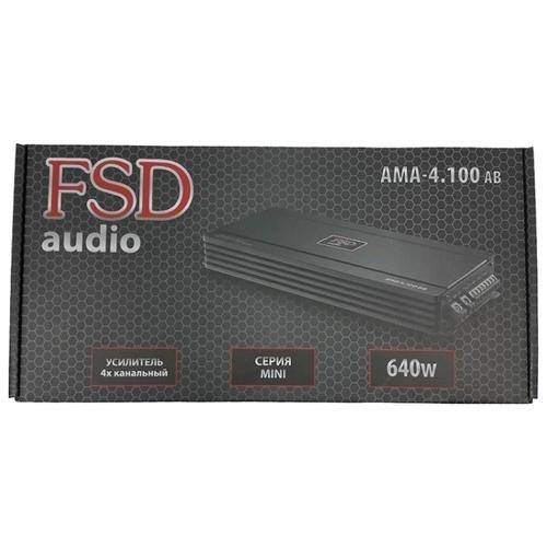Автомобильный усилитель FSD audio MASTER MINI AMA 4.100 AB