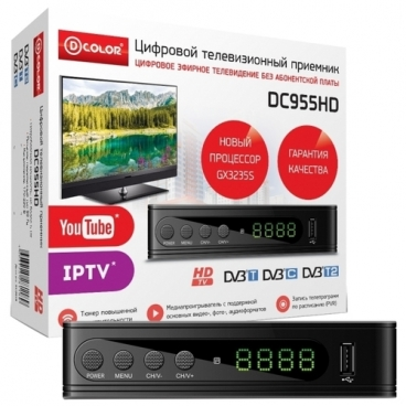 TV-тюнер D-COLOR DC955HD