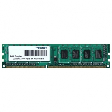 Оперативная память 4 ГБ 1 шт. Patriot Memory PSD34G1600L81