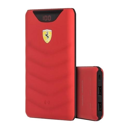 Аккумулятор CG Mobile Ferrari Wireless Power Bank 10000 mAh (FEOPBW10KQU)