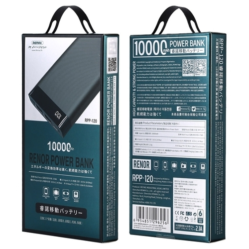Аккумулятор Remax Renor 10000 mAh RPP-120