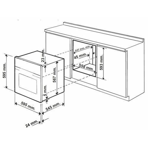 Электрический духовой шкаф Hotpoint-Ariston FTR 850 (AN)