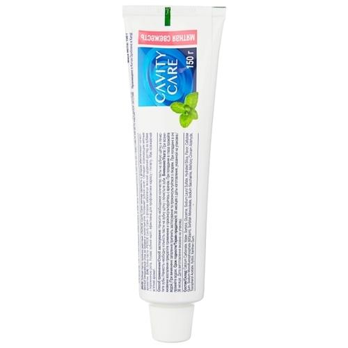 Зубная паста Perioe Cavity Care Тройное действие мятная свежесть с фтором