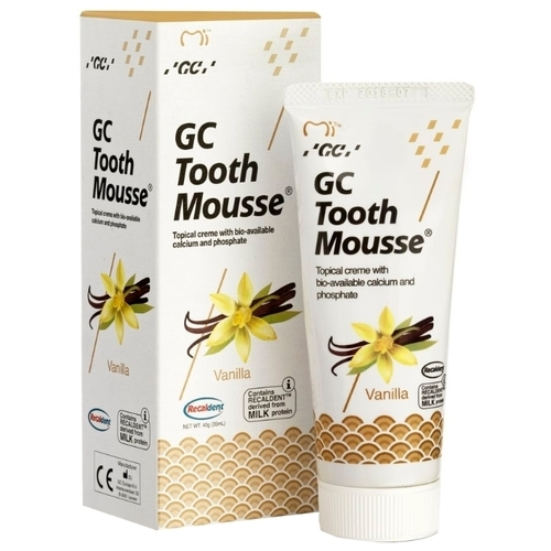 Зубной гель GC Corporation Tooth mousse, ваниль