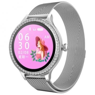 Часы KingWear M8 (milanese)