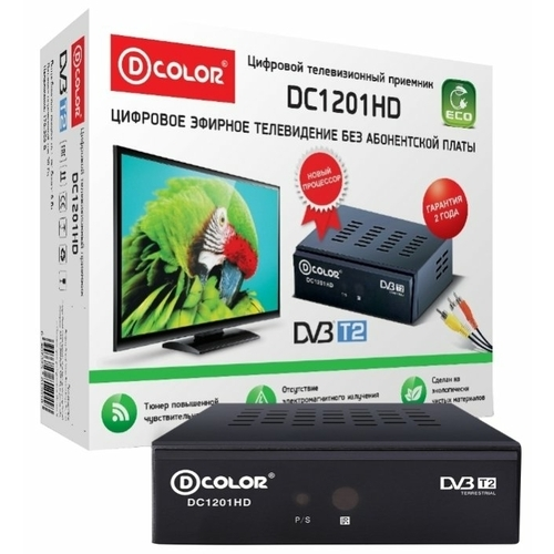 TV-тюнер D-COLOR DC1201HD