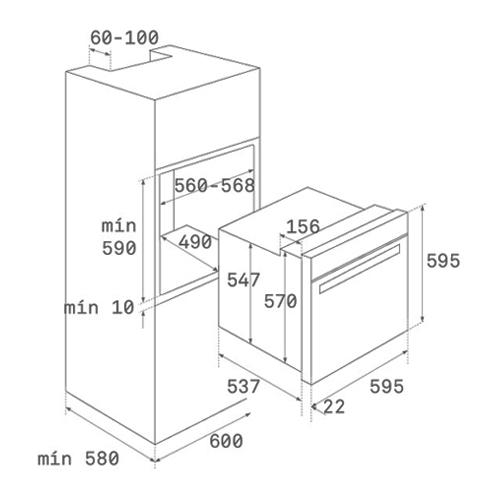 Электрический духовой шкаф TEKA HLB 860 (41560098)