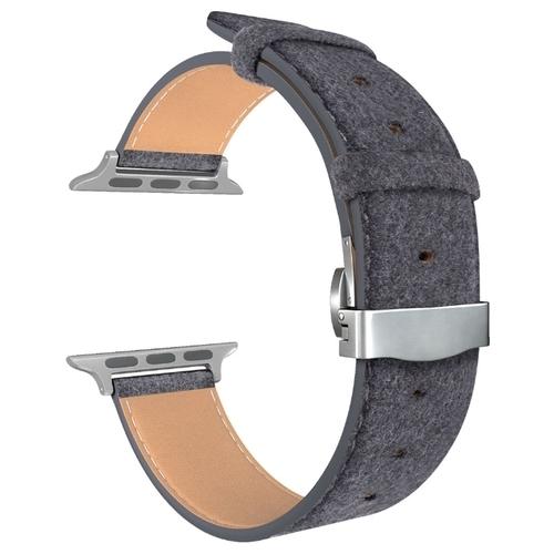 Lyambda Кожаный ремешок Minkar для Apple Watch 38/40 mm (DSP-10)