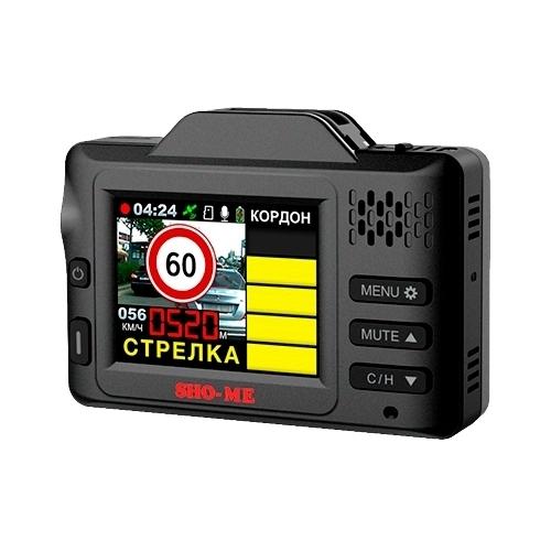 Видеорегистратор с радар-детектором SHO-ME Combo Drive Signature GPS/GLONASS, GPS, ГЛОНАСС