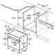 Электрический духовой шкаф Bosch HBG675BB1
