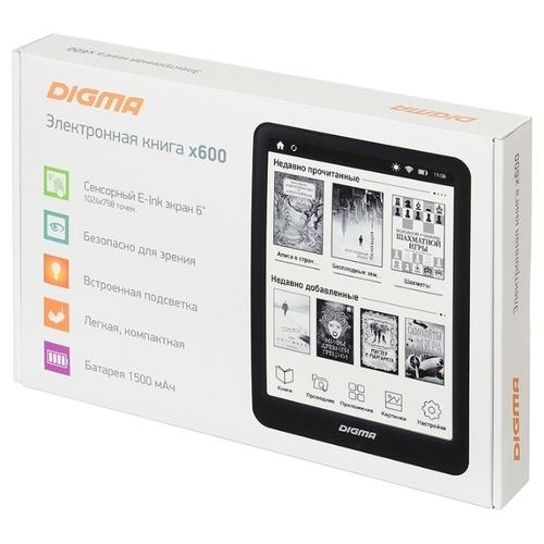 Электронная книга Digma х600