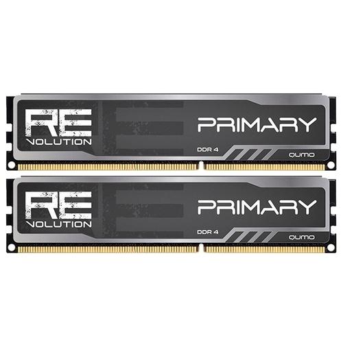 Оперативная память 8 ГБ 2 шт. Qumo ReVolution Primary Q4Rev-16G2M2800P16Prim