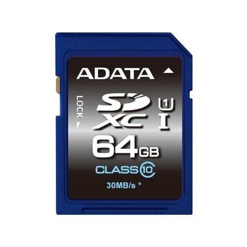 Карта памяти ADATA Premier SDXC Class 10 UHS-I U1 64GB