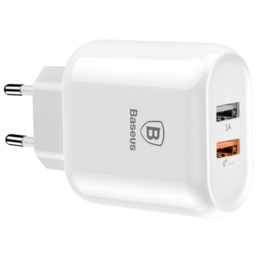 Сетевая зарядка Baseus Bojure Series Dual-USB quick charge