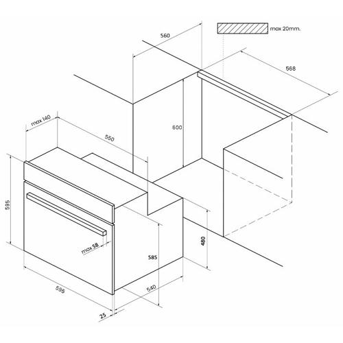 Электрический духовой шкаф Kuppersberg HA 657 T