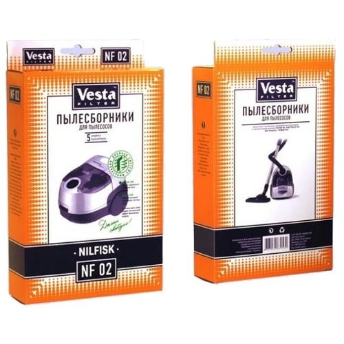 Vesta filter Бумажные пылесборники NF 02