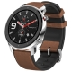 Часы Amazfit GTR 47mm stainless steel case, leather strap