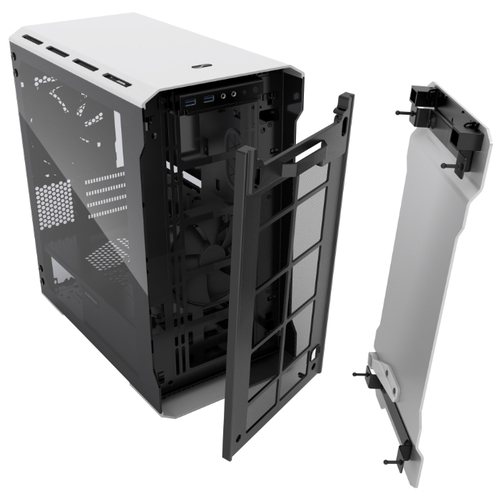 Компьютерный корпус Phanteks Enthoo Evolv mATX Tempered Glass Silver