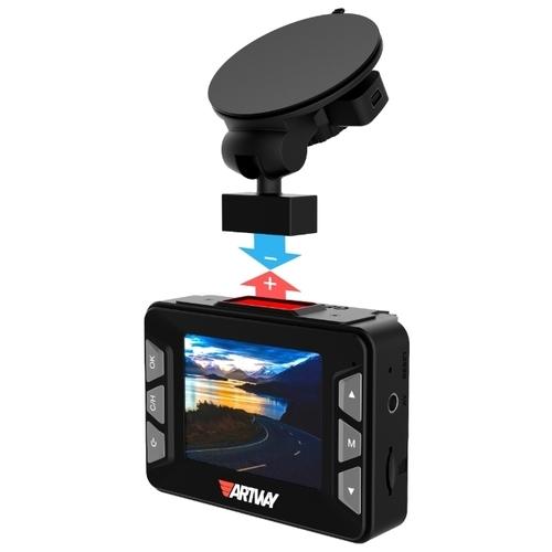 Видеорегистратор с радар-детектором Artway MD-106 COMBO 3 в 1 Super Fast, GPS