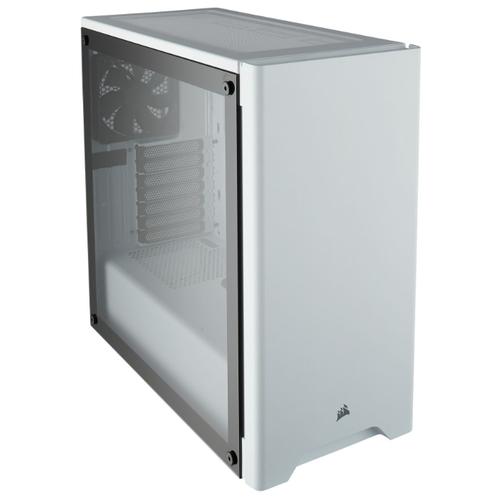 Компьютерный корпус Corsair Carbide Series 275R Tempered Glass White