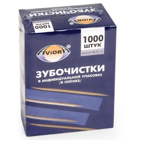 Aviora зубочистки Бамбуковые в инд. упаковке (в пленке)