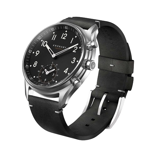 Часы Kronaby Apex (leather strap) 43mm