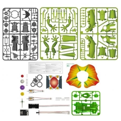 Электромеханический конструктор ND Play На элементах питания 265606 Робот-ящерица